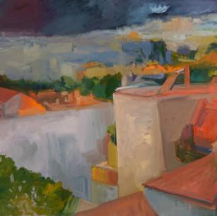 Diminishing Light Over Jerusalem