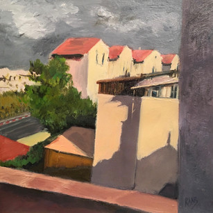Porch View in Ramat Beit Shemesh