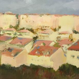 Rooftops in Ramat Beit Shemesh
