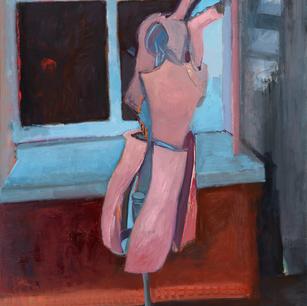 Mannequin in Studio at Night