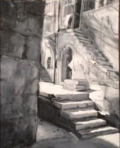 Courtyard in Jerusalem