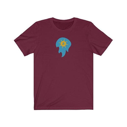 Mighty Maroon Spirit of Prosperity Bitcoin Ball T-Shirt