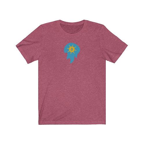 Regal Raspberry Spirit of Prosperity Bitcoin Ball T-Shirt