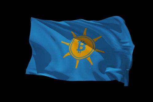 Bitcoin Prosperity Flag