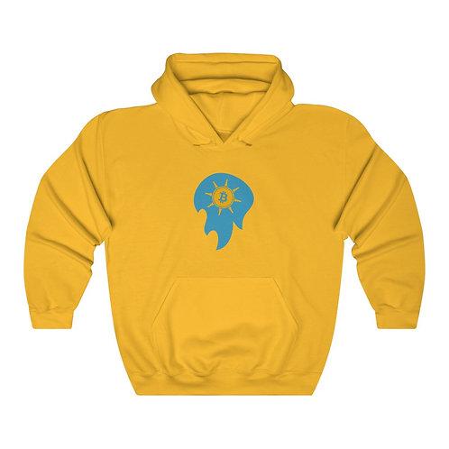 Spirit Ball Golden-Yellow Bitcoin Prospect Flag Hoodie