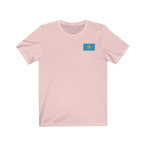 Jedi Pink Bitcoin Prosperity Flag T-Shirt