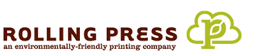 Rolling Press Printing Company Logo