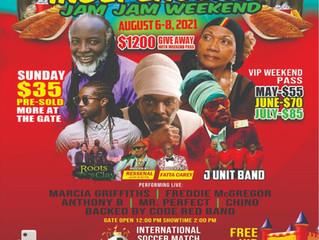 Jamaica Independence Jam Jam Weekend