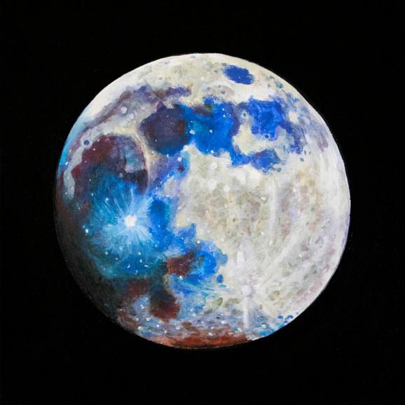 True Color Moon