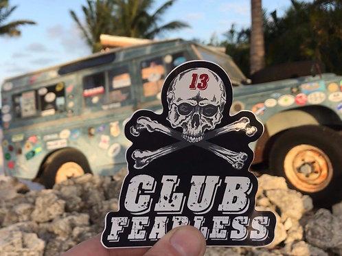 Club Fearless Sticker