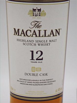 Macallan 12 Years Double Cask, 700ml, 40 % Vol./Alk.