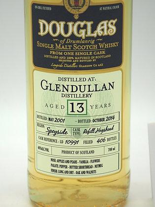 Glendullan 13 Jahre (Mai 2001/Oktober 2014), 70 cl., 46 % Vol.alc