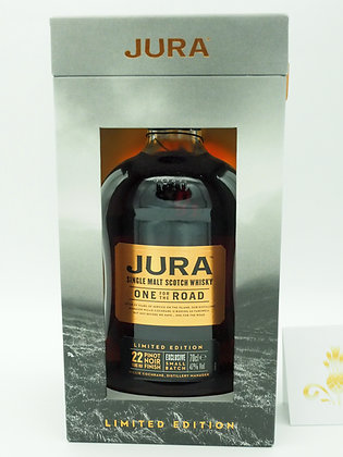 """Jura """"One for the road"""", 22 Jahre, LE, 70 cl., 47%Vol.alc"""