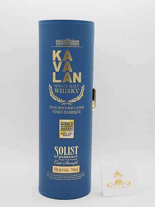 Kavalan Solist Vinho Barrique, 58.6 % Vol. 70 cl LE
