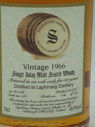Laphroaig Vintage 1966/1996, 30 Jahre, 48.9 % Vol., 70 cl. Signatory