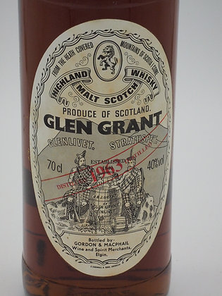 Glen Grant 1963/1991, 40 % Vol., 70 cl.