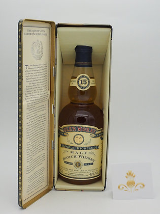 Glen Moray 15 Jahre, 43 % Vol., 70 cl. Highland Regiments