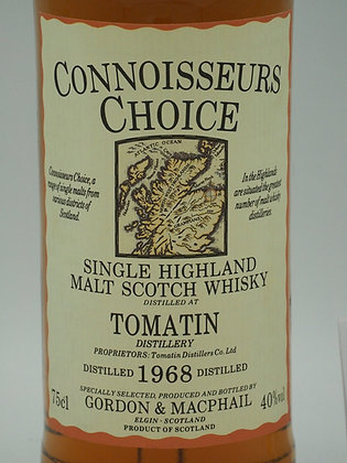 Tomatin 1968//1990, 40 % Vol., 75 cl. Connoisseurs Choice