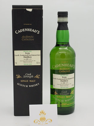 Loch Lomond (Inchmurrin), 1985/1996, 11 Jahre, 63.2 % Vol., 70 cl.