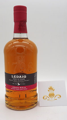 Ledaig Rioja finished, 53.8 % Vol., 70 cl., Limited Edition