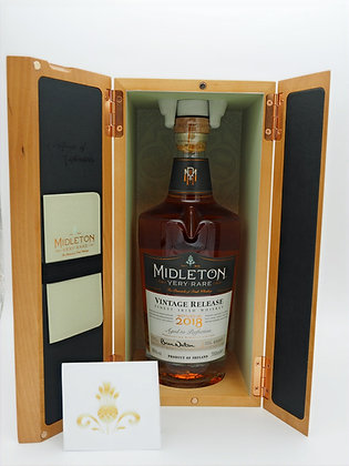 Midleton Very Rare Vintage Release 2018, 700ml, 40 % Vol./Alc.