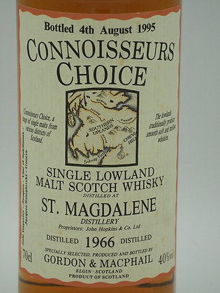 St. Magdalene 1966/1995 CC, 40 % Vol., 70 cl. Lost Distillery