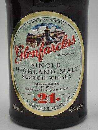 Glenfarclas 21 Jahre, 43 %Vol., 70 cl