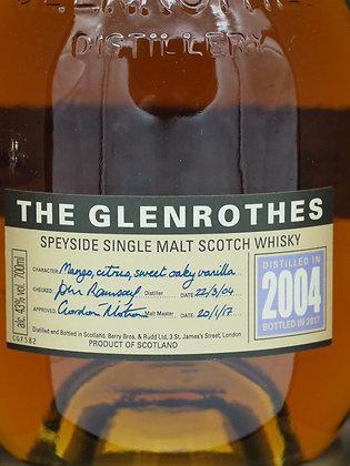 The Glenrothes Vintage 2004, bottled 2017, 43 % Vol., 70 cl.