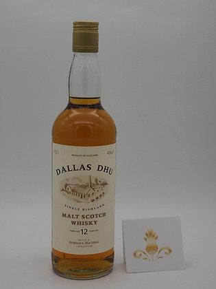 Dallas Dhu 12 Jahre, 40 % Vol., 70 cl.