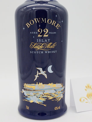 """Bowmore 22 """"Moonlight"""", 43 % Vol., 70 cl. Keramikflasche"""