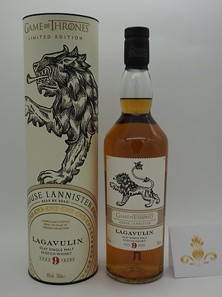 Game of Thrones-Whisky House Lannister Lagavulin 9 Years, 70 cl., 46 % Vol.