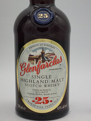 Glenfarclas 25 Jahre, 43 %Vol., 70 cl, old Label