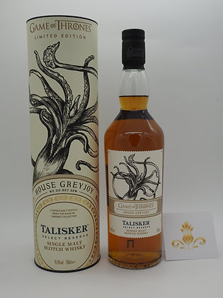 Game of Thrones-Whisky House Greyjoy Talisker, 70 cl., 45.8 % Vol.