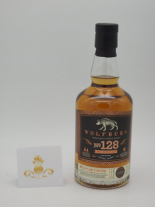 Wolfburn No.128, 46 % Vol., 70 cl.. limited Release