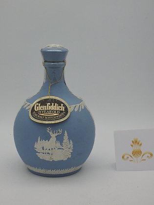 Glenfiddich 21 Jahre, 1966/1987,  Wedgwood-Karaffe, 43 % Vol., 70 cl
