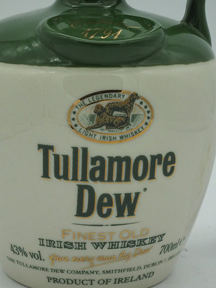 Tullamore Dew, 43 % Vol., 70 cl., Irish Whiskey im Tonkrug