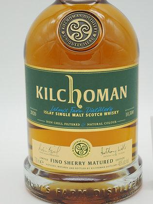 Kilchoman Fino Sherry Matured 2020, 70 cl., 46 % Vol.alc