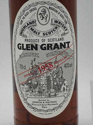Glen Grant 1958/1996, 38 Jahre, 40 % Vol., 70 cl.