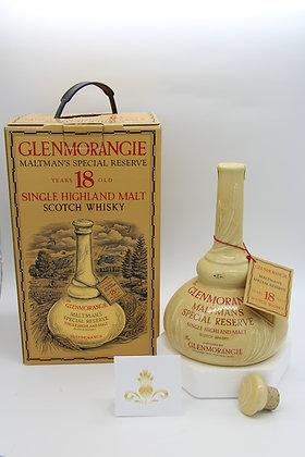 Glenmorangie, 18 Jahre, Maltsman's Special Reserve in Keramik-Dekanter