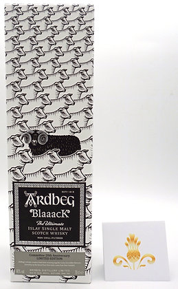 Ardbeg Blaaack 70 cl, 46 % Vol., Limited Edition Commitee 20th Anniversary
