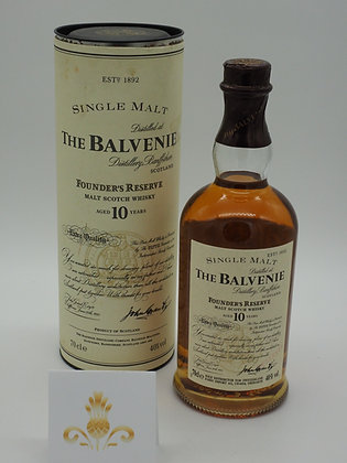 Balvenie Founder's Reserve 10 Jahre, 40% Vol., 70 cl.