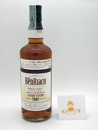 BenRiach 1991Claret Finish, 70 cl, 52.8 % Vol