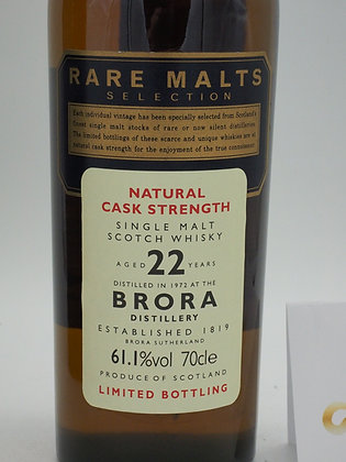 Brora 22 Jahre, 61.1 % Vol., 70 cl., Rare Malts Selections