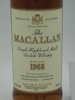 Macallan 1968/1987, 18 Jahre, 43 % Vol., 75 cl