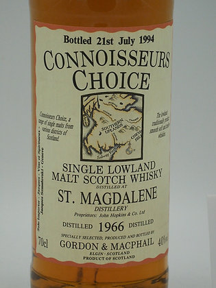 St. Magdalene 1966/1994, 40 % Vol., 70 cl. Connoisseurs Choice
