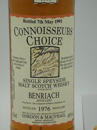 Benriach 1976/1991, 40 % Vol., 70 cl. Connoisseurs Choice