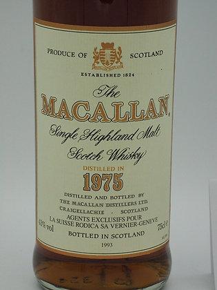Macallan 1975/1993, 18 Jahre, 43 % Vol., 75 cl.