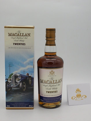 Macallan Traveler Serie komplett, 40 % Vol., vier Flaschen à 50 cl