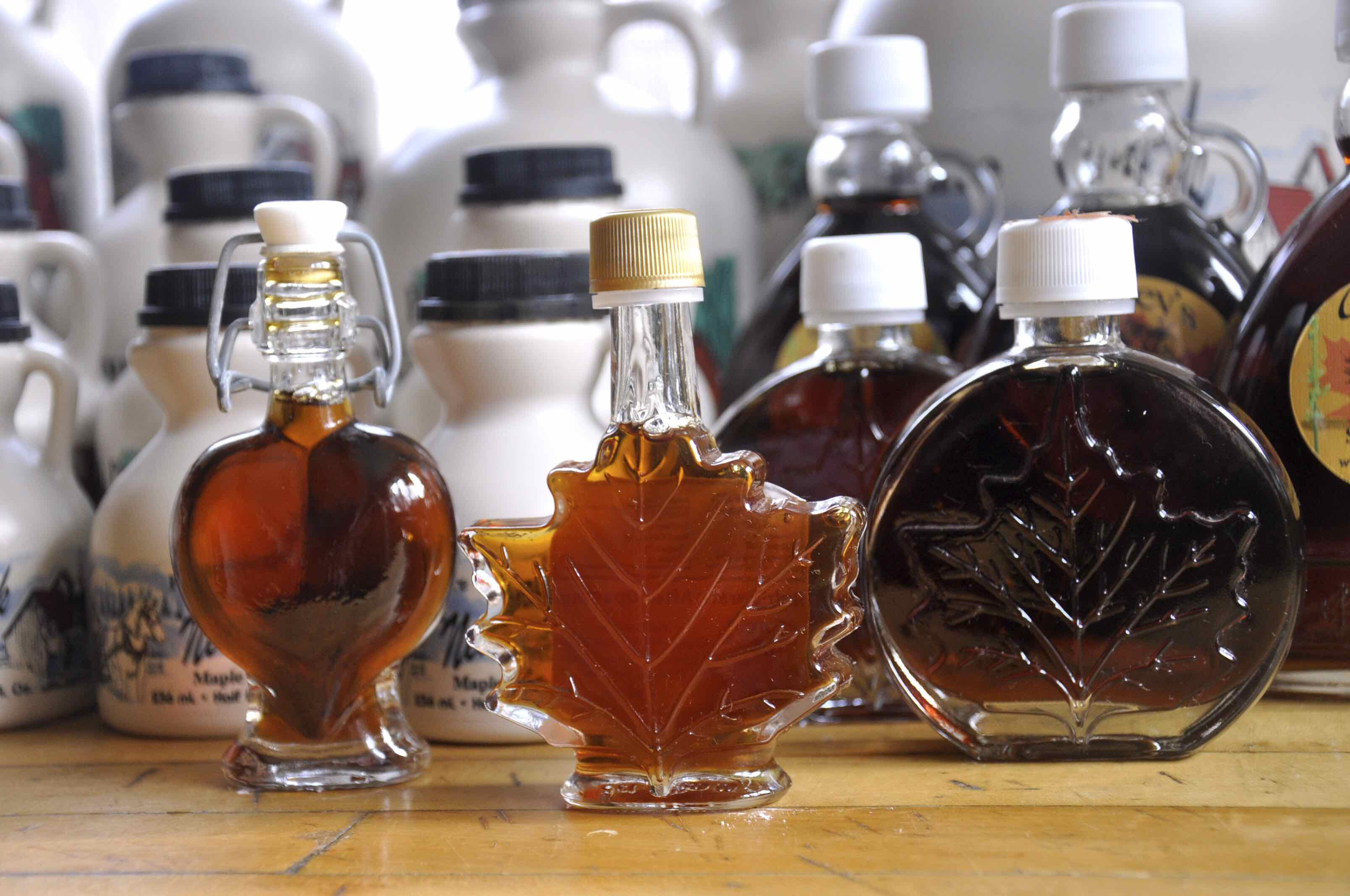 Variety of Syrup Products