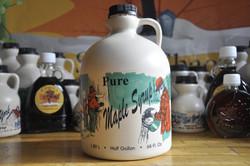 Maple Syrup Plastic - Half Gallon